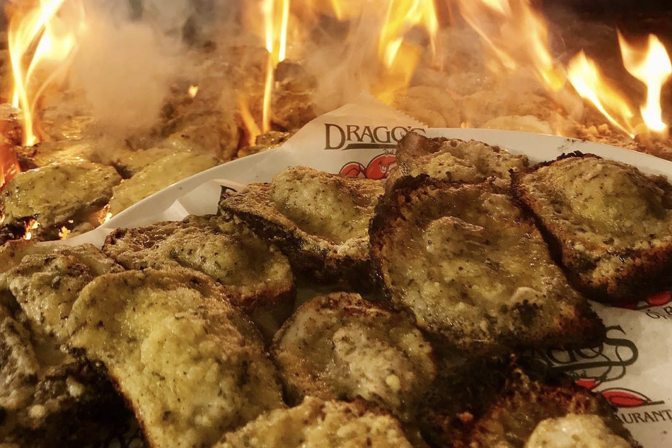Drago's Seafood chargrilled oysters